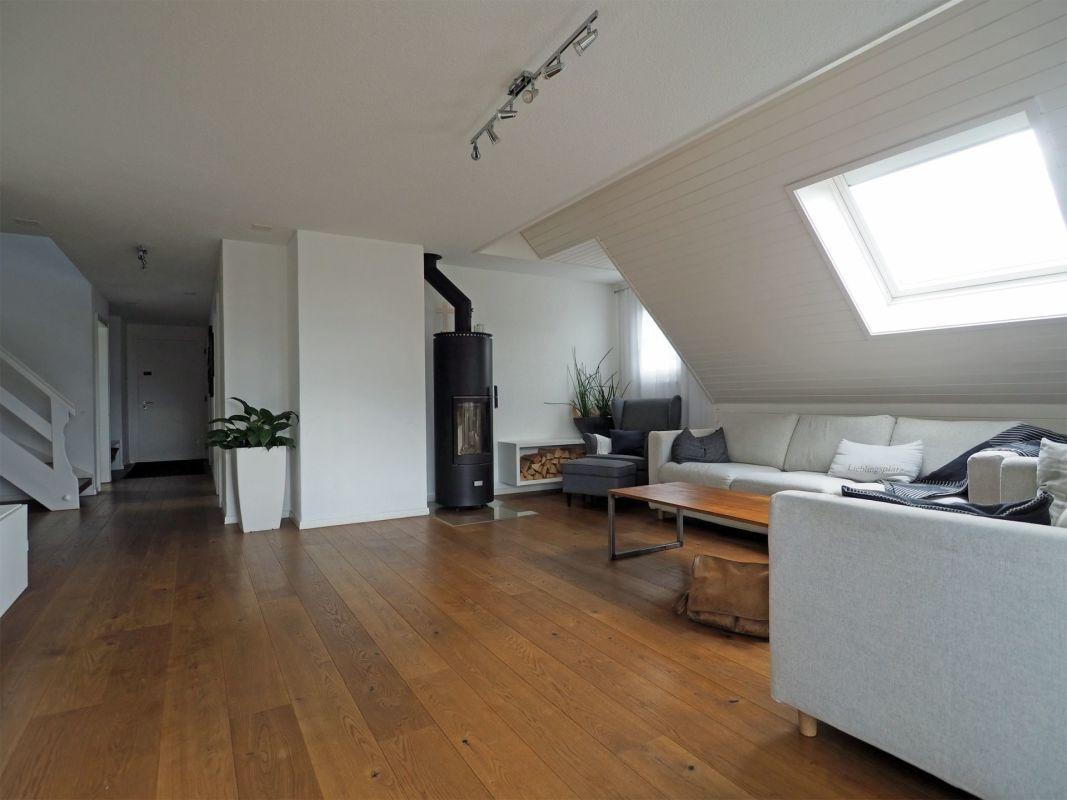 Wohnraum mit Schwedenofen