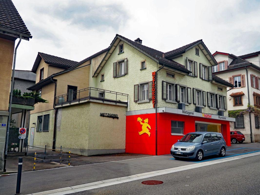 Ansicht Wohn- & Geschäftshaus