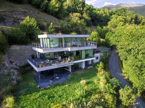 Villa Wallis, Luftaufnahme
