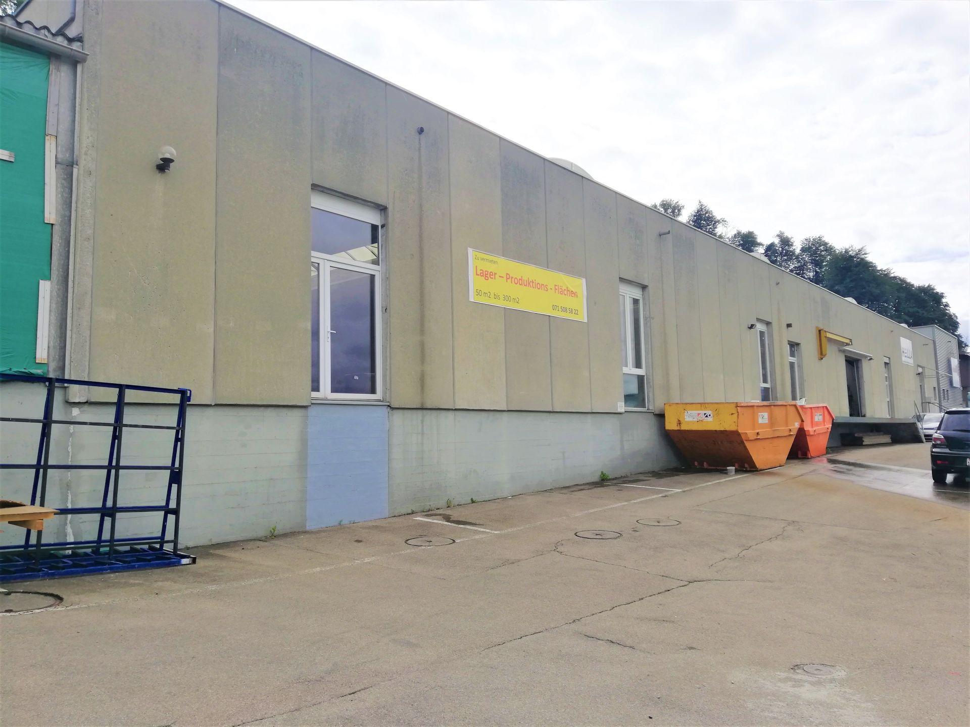 Gewerbe- oder Lagerraum ab 50 m² – 280 m²