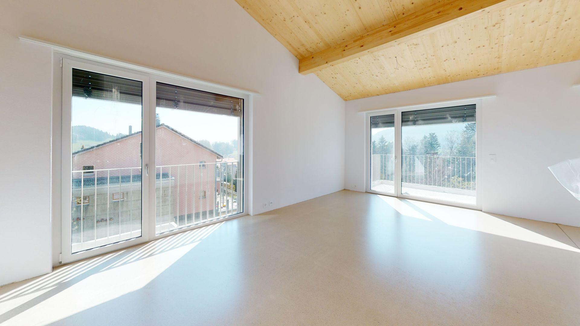 Neubau: hochwertige Dachwohnung