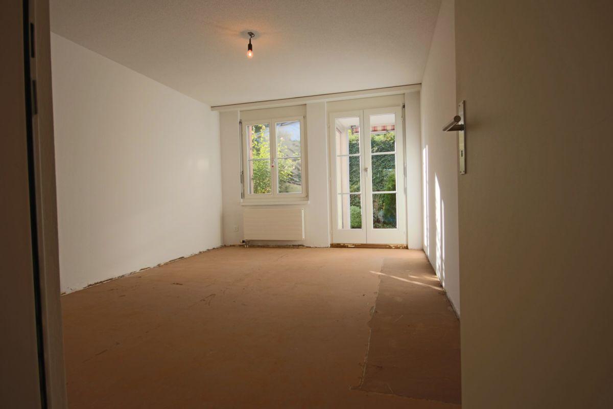 Einen neuen Bodenbelag darf der neue Eigentümer mitbestimmen.