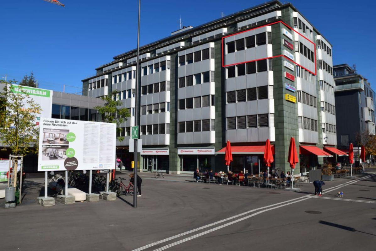 Bürogebäude Erlenhof beim Neuwiesen