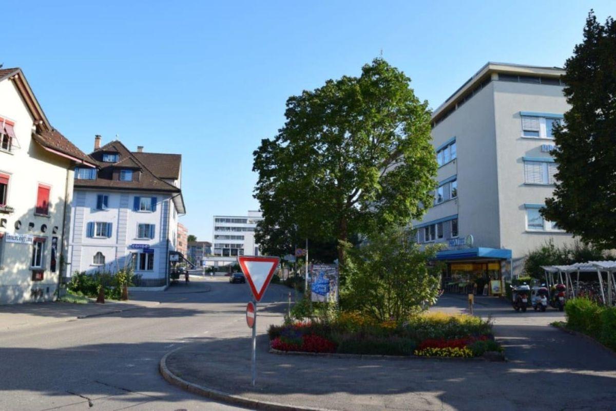 Bahnhofstrasse im Zentrum