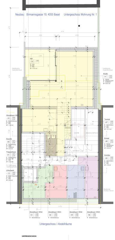 Untergeschoss Wirtschaftsraum / Keller