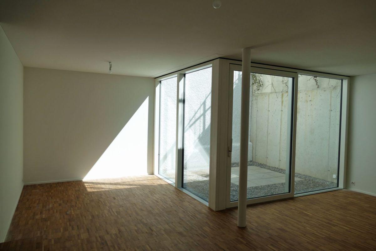 Untergeschoss mit Atrium
