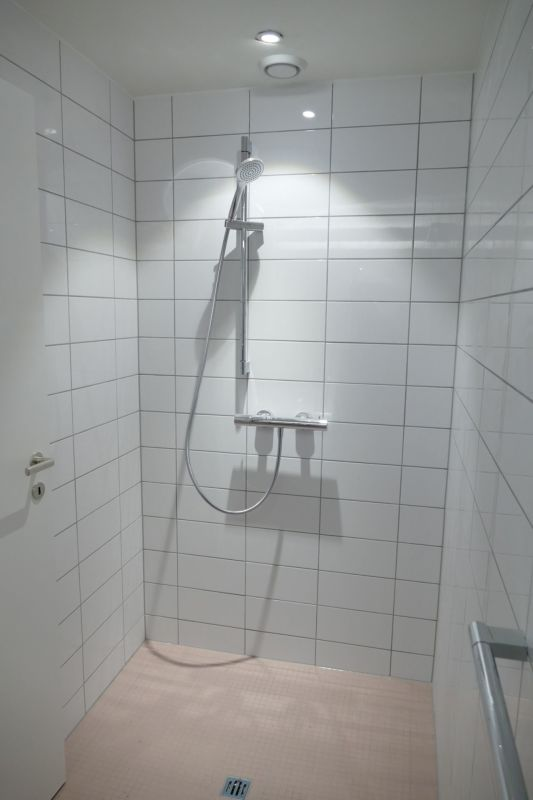 Dusche im Untergeschoss