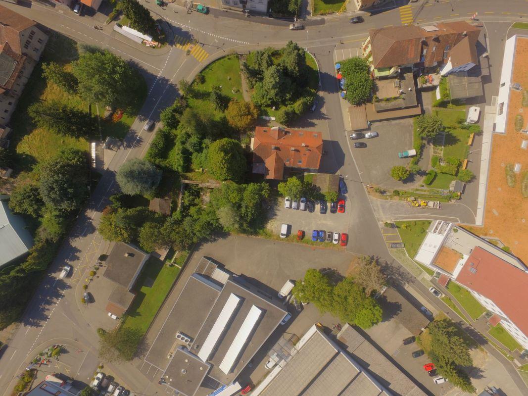 Luftaufnahme Meierhofweg 4 / Bahnhofstrasse 3