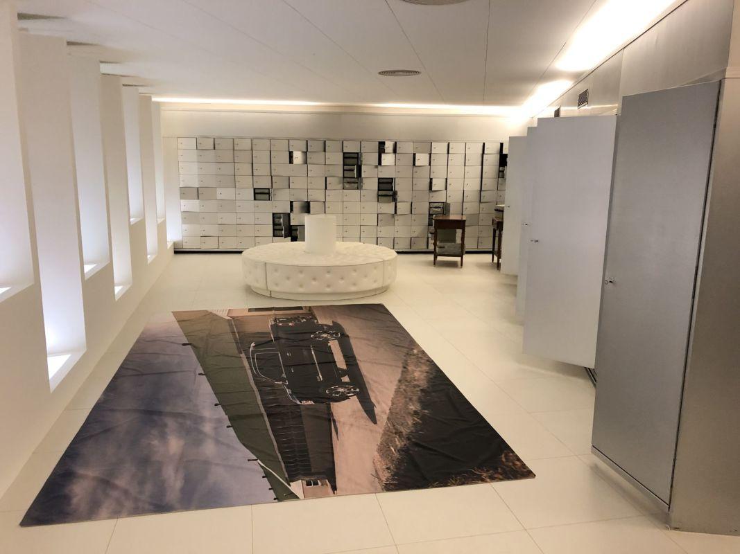 Ufficio in centro a Lugano con ampio archivio/caveau