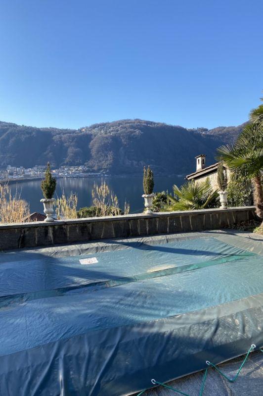 Aussicht auf den Lago di Lugano