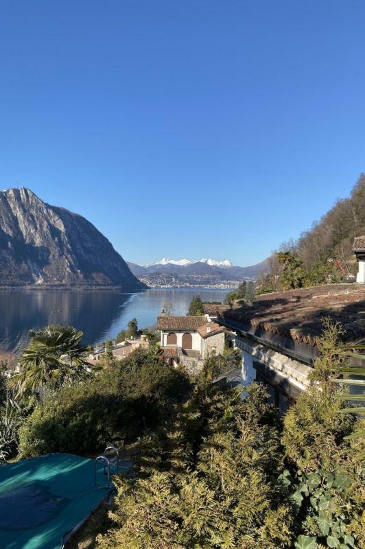 Aussicht auf Lugano