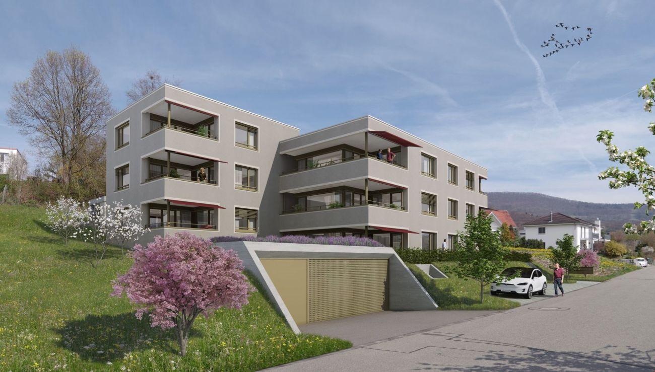 Erstbezug - lichtdurchflutete Wohnung mit zwei Balkonen