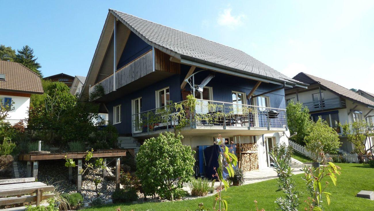 6.5-Zimmer-Einfamilienhaus an sonniger Lage, mit Top-Aussicht