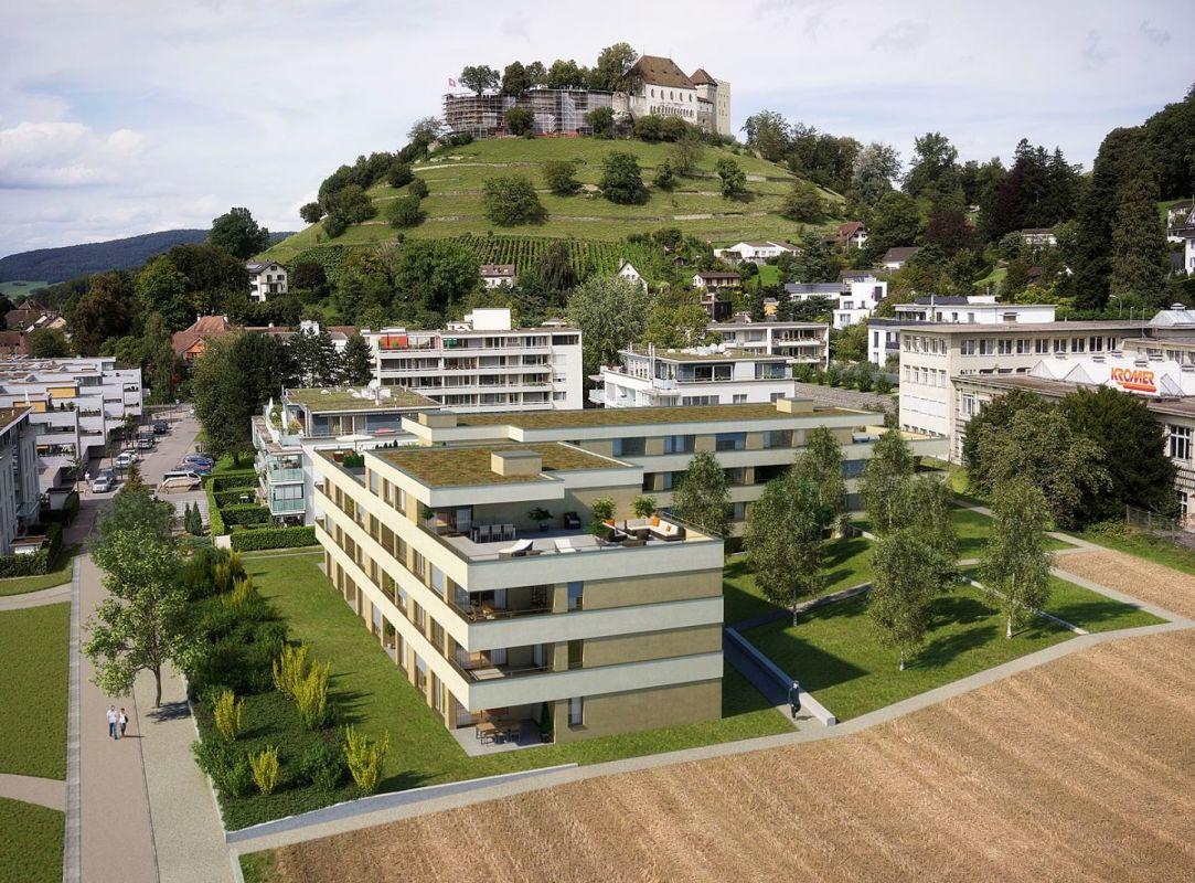 Wohnen im Widmi-Park / ATTIKAWOHNUNG