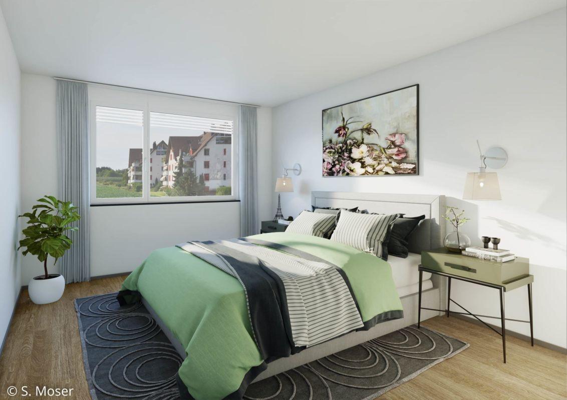 Musterbild Schlafzimmer