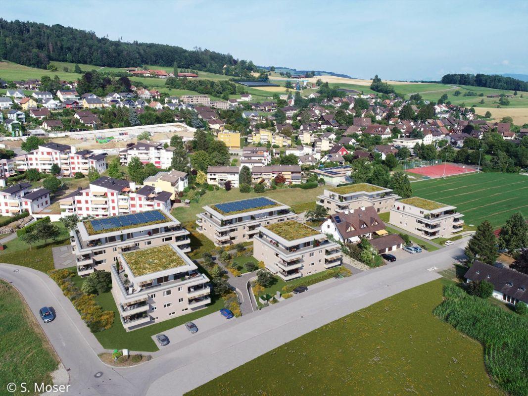 Projekt Bachperle Ansicht von oben