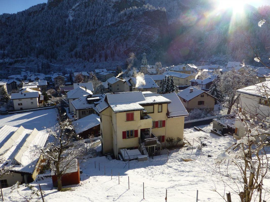 West _ Blick von Heinzenbergstrasse aus