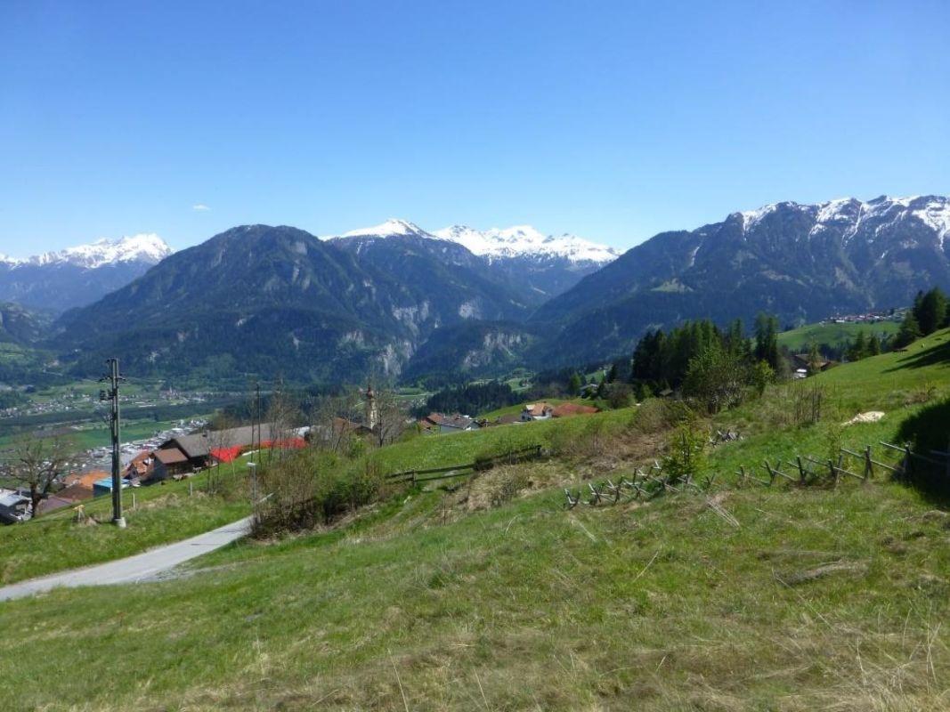 Herrliche freie Aussicht Richtung Muttner-Höhe
