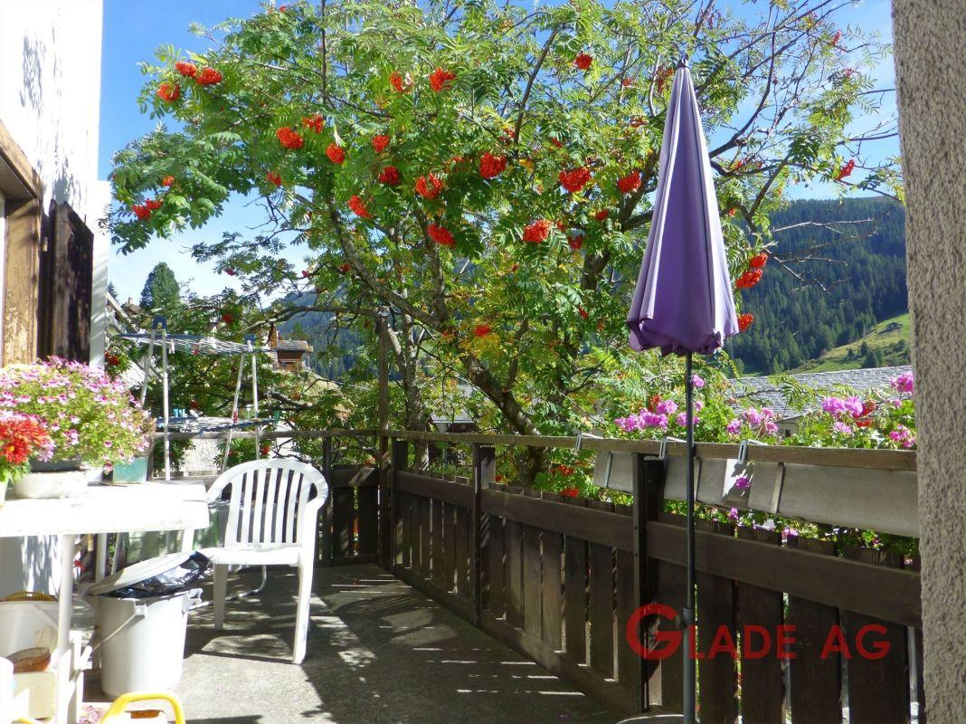 Terrasse mit herrlichem Ausblick