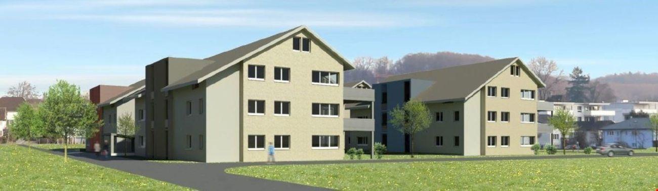 ERSTBEZUG - 3 1/2-Zi.-Dachwohnungen mit Galerie Überbauung Ringstrasse