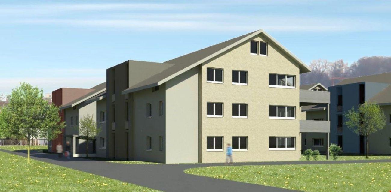 ERSTBEZUG - 4 1/2-Zi.-Dachwohnungen mit Galerie Überbauung Ringstrasse