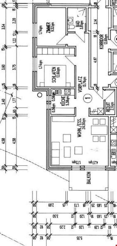 3 1/2-Zimmerwohnung im Hochparterre