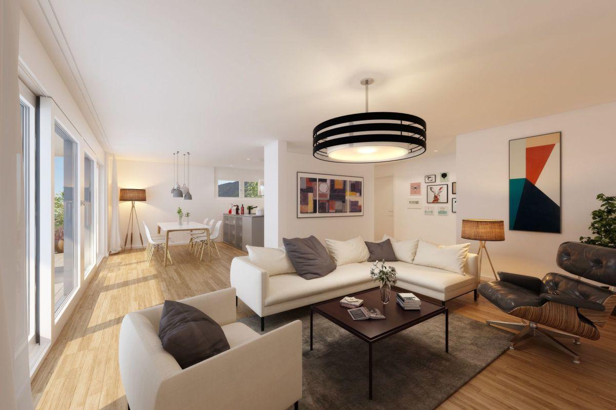 4 1/2-Zimmer-Attika-Wohnungen (Neubau) in gehobenem Segment