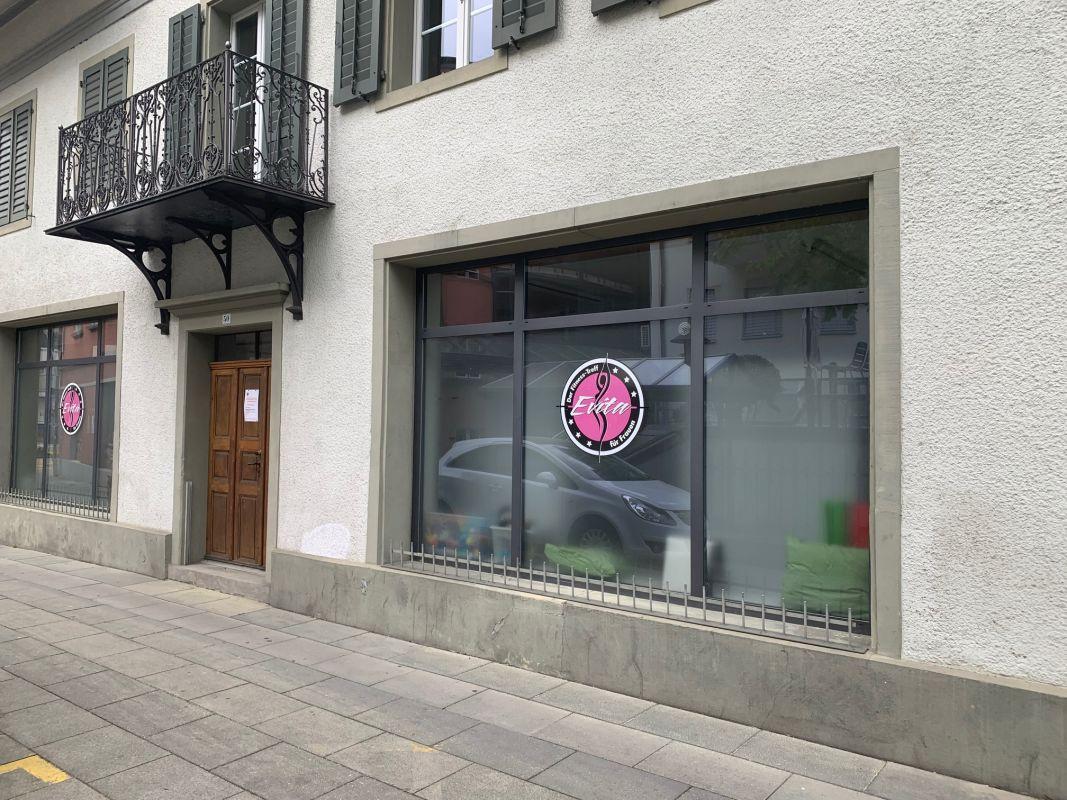 Schaufenster/Eingang