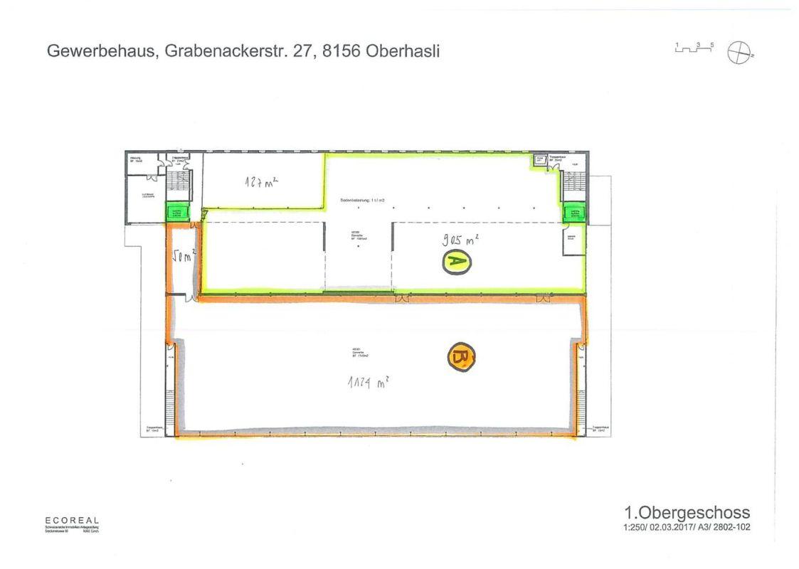 individuell nutzbare Gewerbefläche in gepflegtem Geschäftshaus