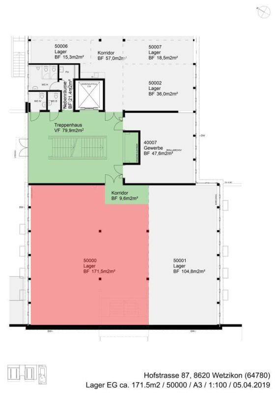Lagerraum im Schöneich-Quartier Wetzikon