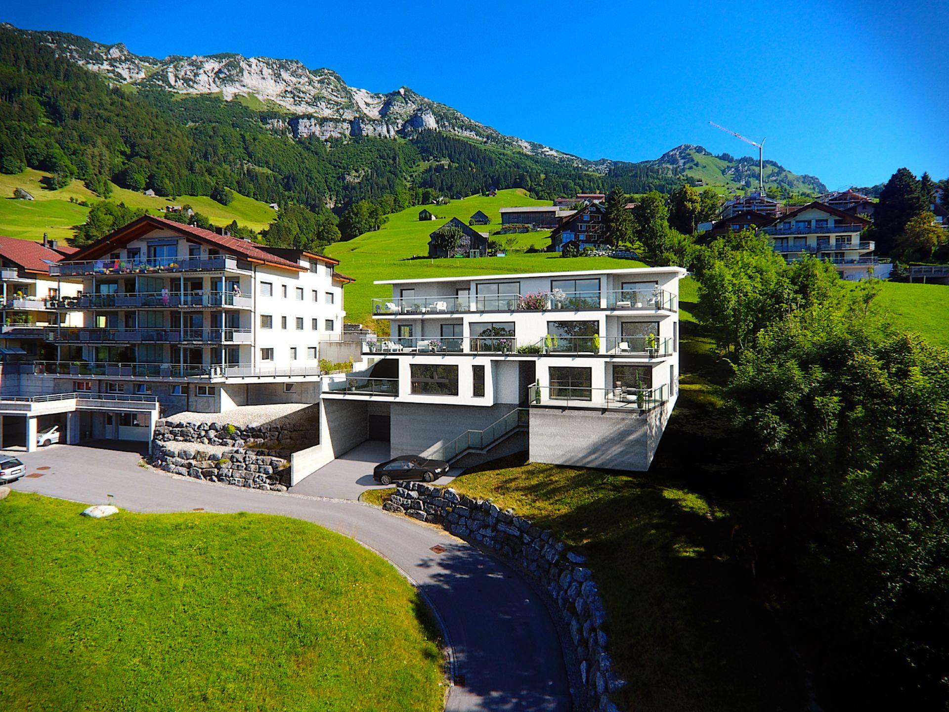 Grosszügige, moderne Terrassenwohnung