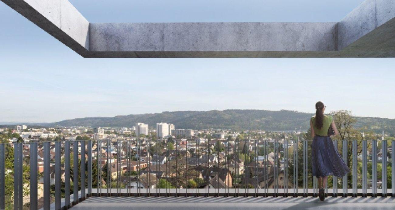 Aussenbild Terrasse Weitsicht
