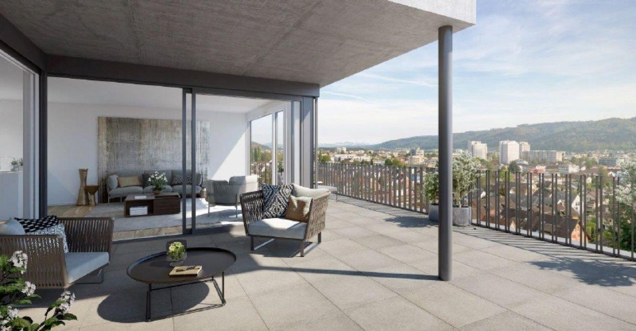 Terrasse Wohnen Haus A