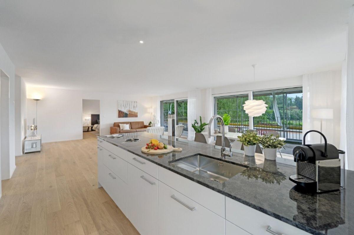 Beispielfoto Musterwohnung C11 Küche