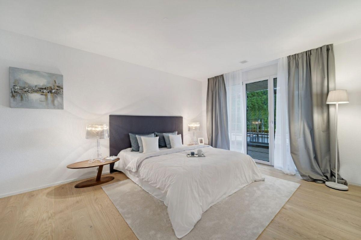 Beispielfoto Musterwohnung C11 Schlafzimmer