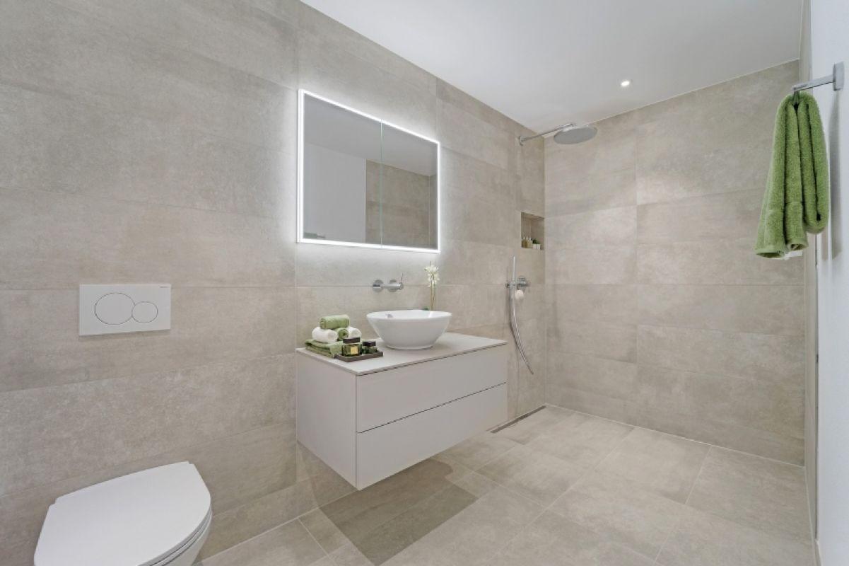 Beispielfoto Musterwohnung C11 Dusche