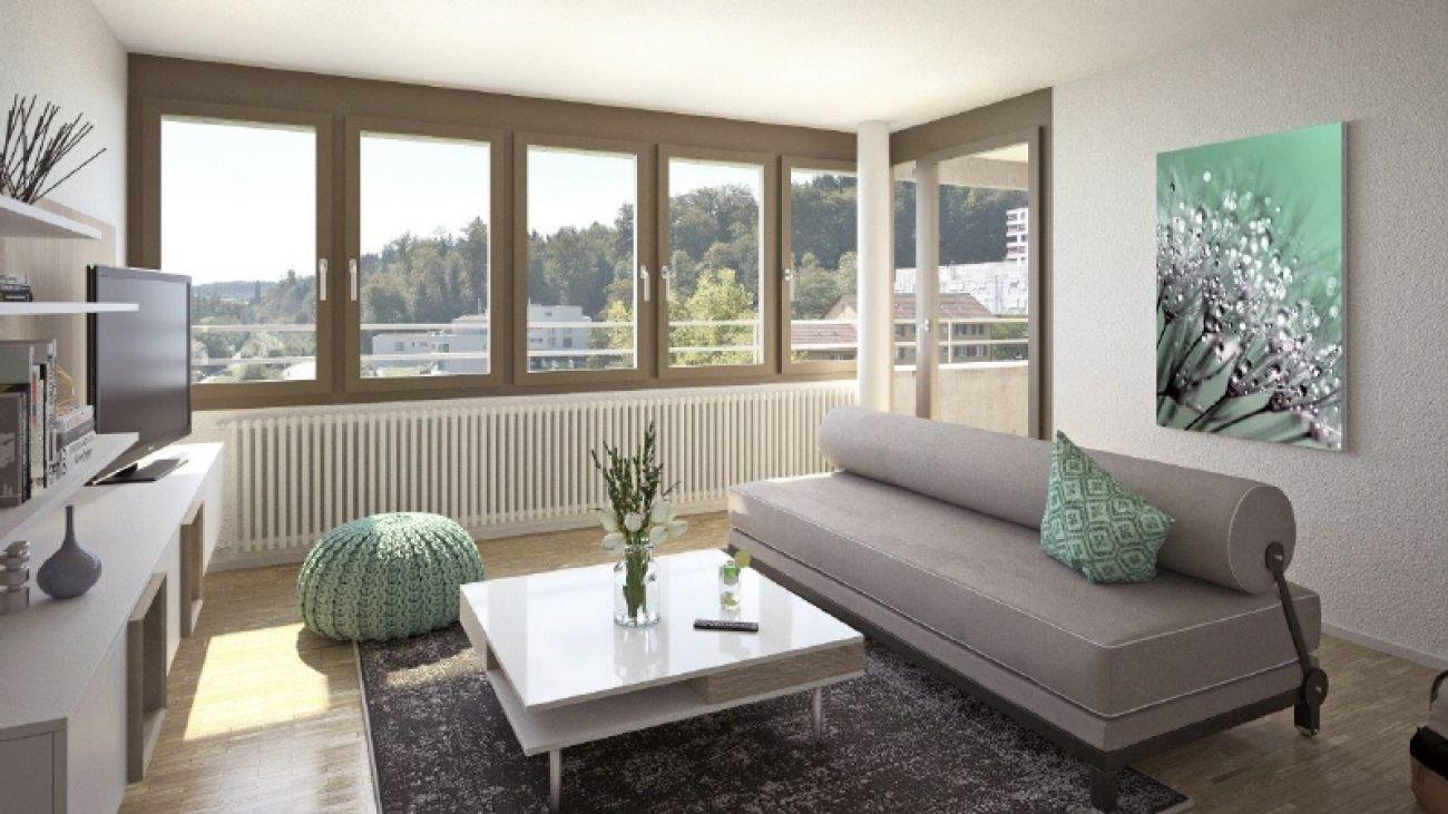 Innenvisualisierung Wohnbereich