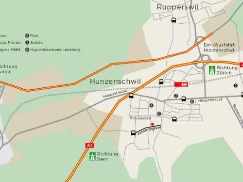 Lageplan_Mikro_Junkerngasse 12_Hunzenschwil