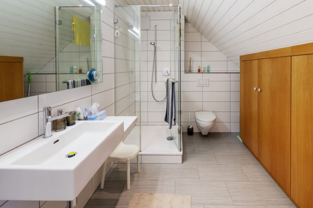 Badezimmer Dachgeschoss
