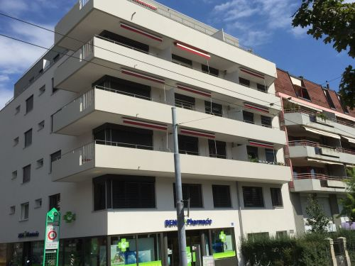 MyHome Immobilier JCM SA - Gérance - Location - Appartement - Lausanne // Facade immeuble