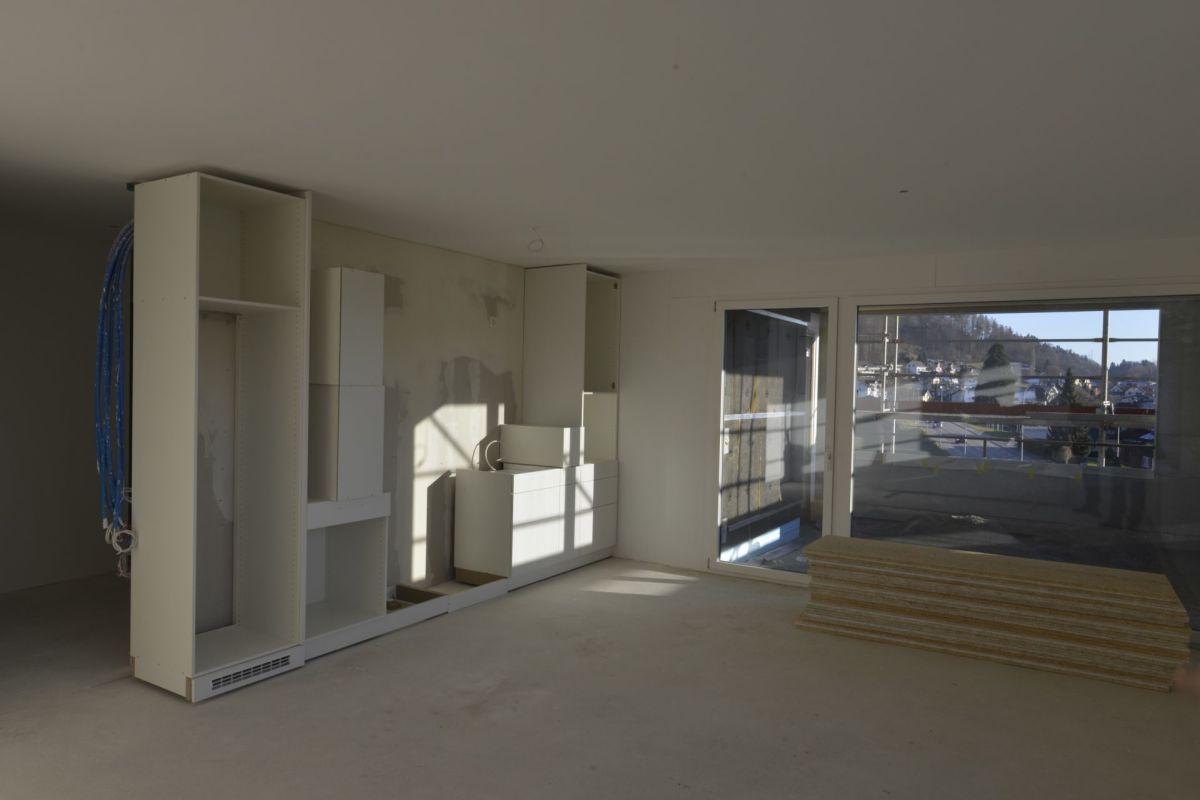 Bank Leerau Neubau Kirchleerau