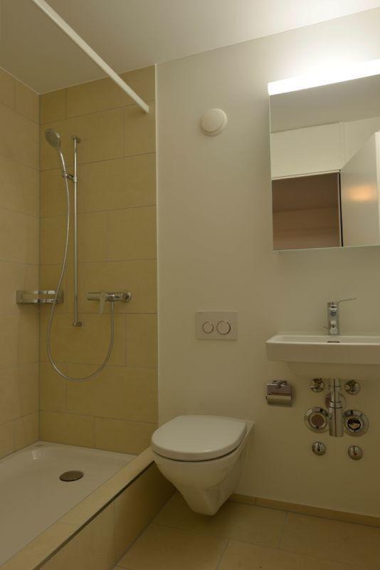 Wohnung Aarau Dusche