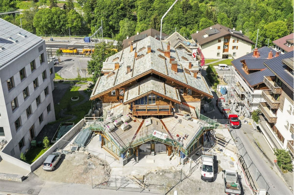 HUS THEO - Neubau an sehr zentraler Lage  - 4½-Zimmerwohnung im 1. UG, Zweitwohnung
