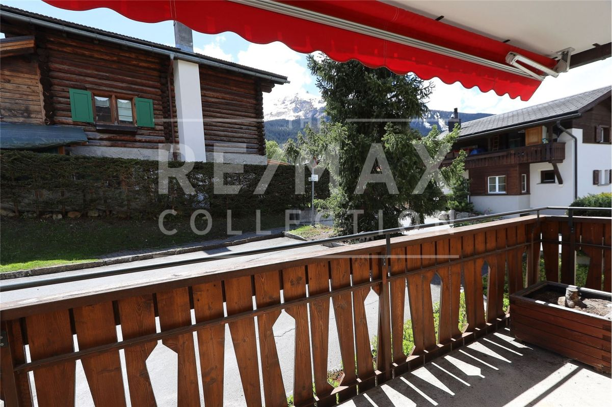 Studio an ruhiger Lage in Klosters