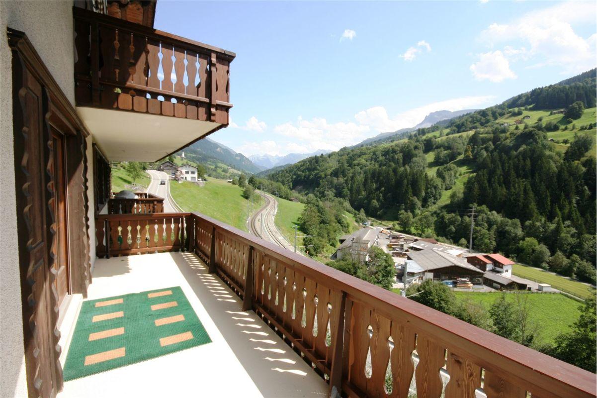 Grosser Balkon - Blick Richtung Osten