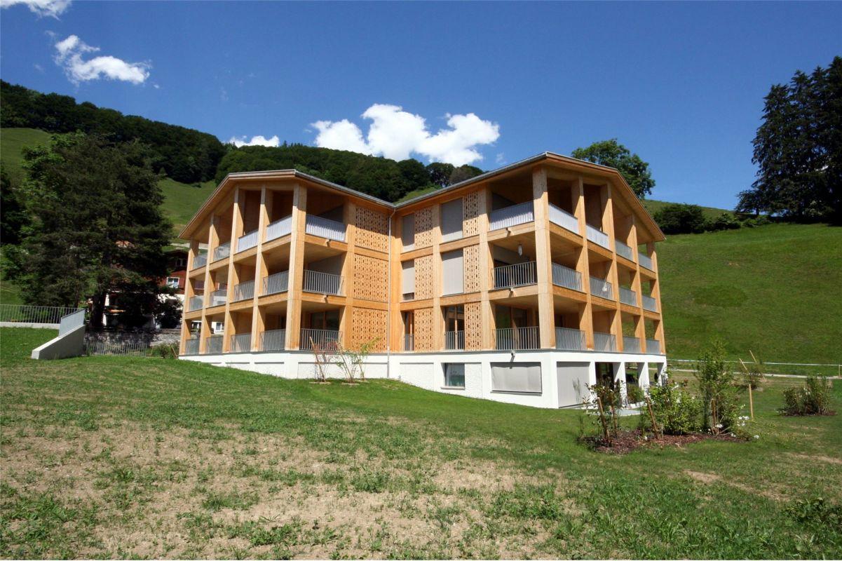 Herrliche Aussicht, 2½ Zimmer Neubauwohnung EG Haus A 5