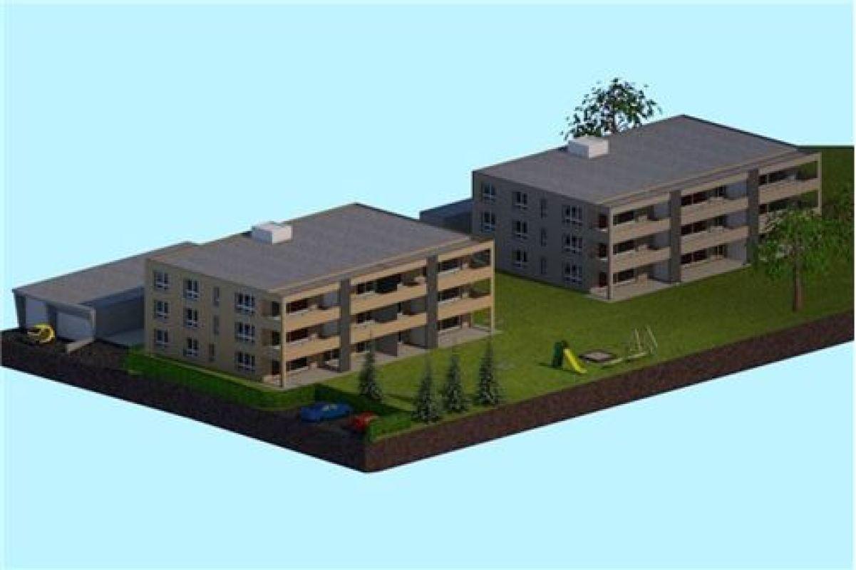 4½ Zimmerwohnung 1. OG angrenzend zur Landwirtschaftszone
