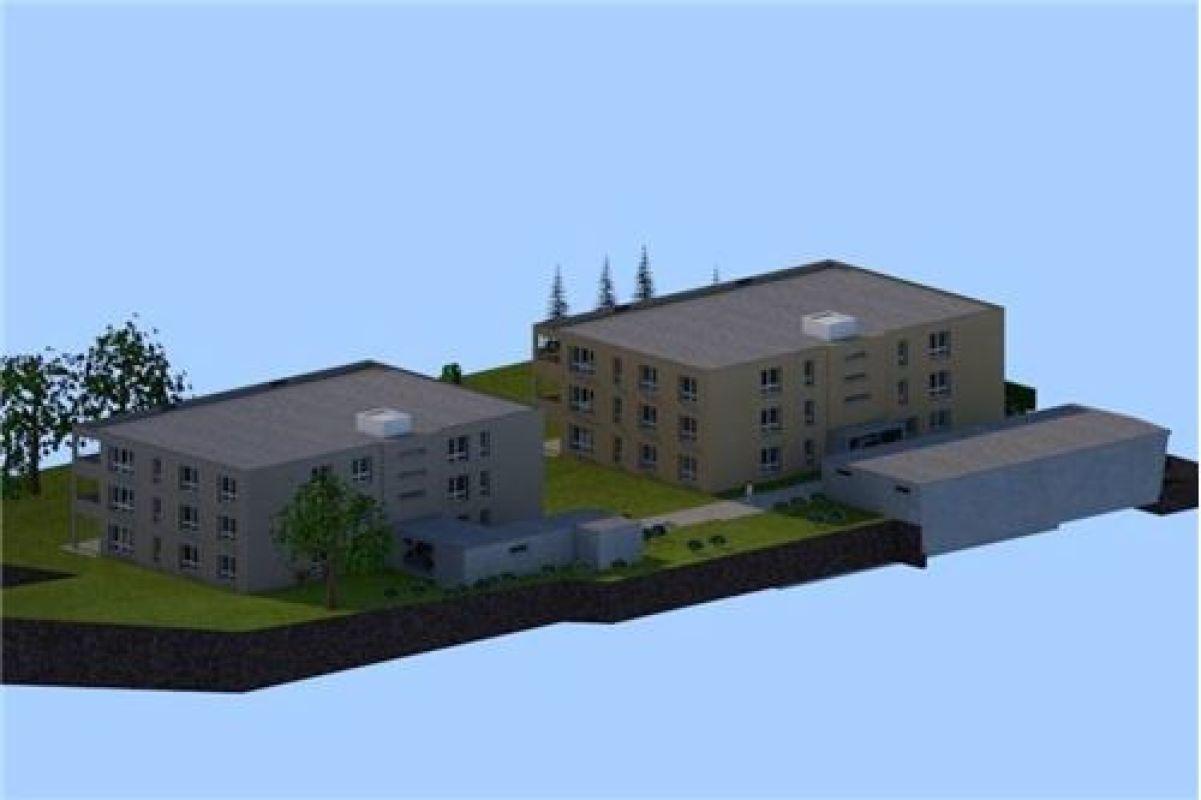 5½ Zimmer-Dachwohnung mit Blick über die Felder