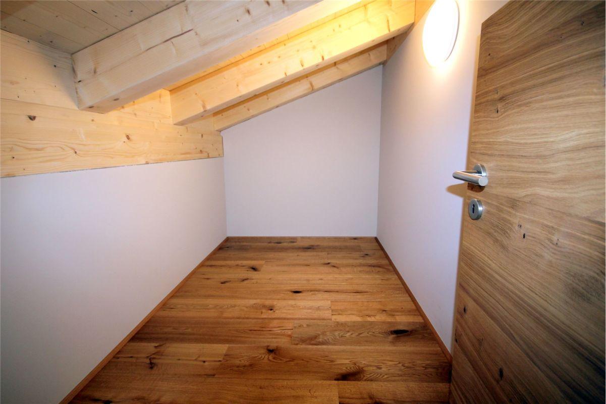 Estrich/Stauraum im Dachgeschoss