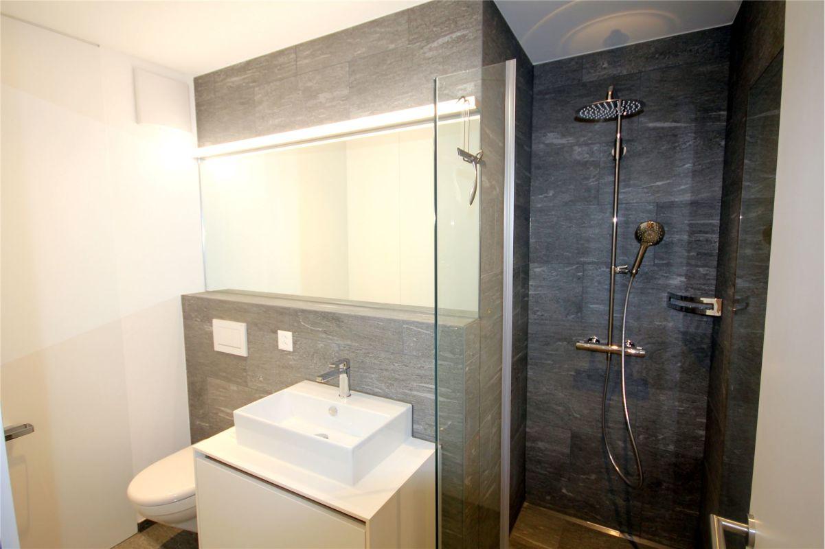Dusche, Lavabo, WC